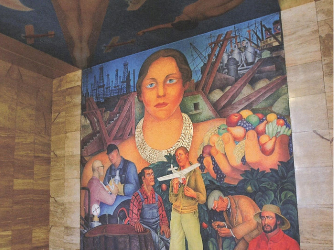 Private Club Access: Diego Rivera's First United States Mural